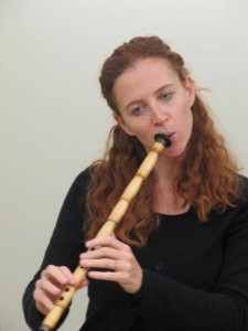 Daphna Mor playing the Ney