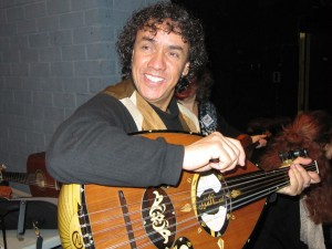 Rachid Halihal with his Oud