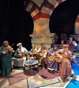 Melissa, Howard and the Guitarras Doradas in The Christmas Revels, Andalusian Treasures