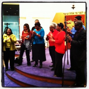 Washington Revels Jubilee Voices sing at Temple Shalom