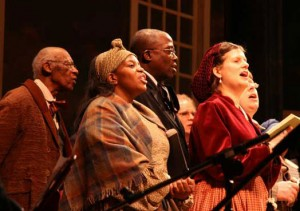 Heritage Voices performing at Ford's Theatre