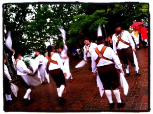 The Foggy Bottom Morris Men bringing in the May (May 1, 2012)