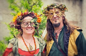 Leah & Shane dressed for the MD Renaissance Festival