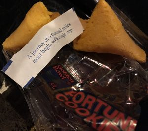 Journey... fortune cookie