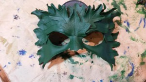 The Woodland Queen's mask.